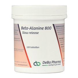 DEBA PHARMA HEALTH PRODUCTS BETA ALANINE 800 SLOW RELEASE (120 TABLETTEN)