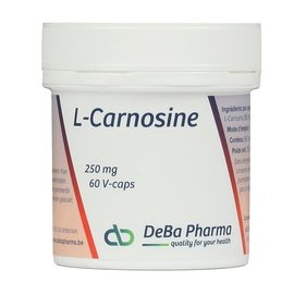 DEBA PHARMA HEALTH PRODUCTS L-CARNOSINE (60 V-CAPS)