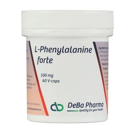 DEBA PHARMA HEALTH PRODUCTS L-PHENYLALANINE FORTE (60 V-CAPS)