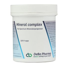 DEBA PHARMA HEALTH PRODUCTS COMPLEXE DE MINÉRAUX (120 V-CAPS)