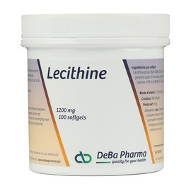 DEBA PHARMA HEALTH PRODUCTS LÉCITHINE (100 SOFTGELS)