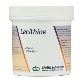 DEBA PHARMA HEALTH PRODUCTS LECITHINE (100 SOFTGELS)
