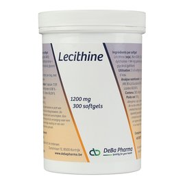 DEBA PHARMA HEALTH PRODUCTS LECITHINE (300 SOFTGELS)