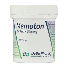 DEBA PHARMA MEMOTON GINKGO et GINSENG (60 V-CAPS)