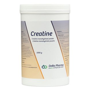 DEBA PHARMA HEALTH PRODUCTS CREATINE MONOHYDRAAT POEDER (1 000 G)
