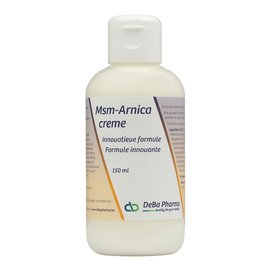 DEBA PHARMA HEALTH PRODUCTS MSM-ARNICA CREME (150 ML)