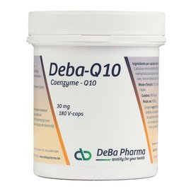 DEBA PHARMA HEALTH PRODUCTS DEBA COENZYME Q10 (180 V-CAPS)