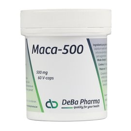 DEBA PHARMA HEALTH PRODUCTS MACA 500 (60 V-CAPS)