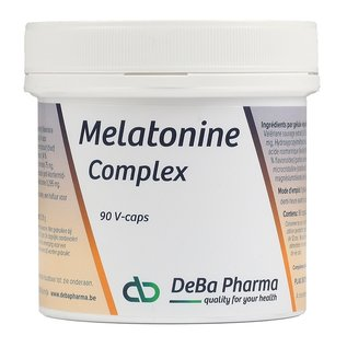 DEBA PHARMA HEALTH PRODUCTS MELATONINE COMPLEX (90 V-CAPS)