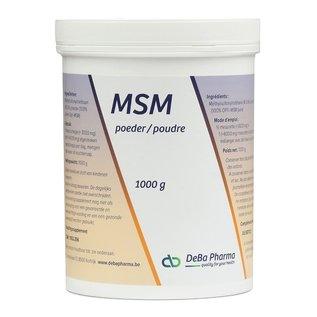 DEBA PHARMA HEALTH PRODUCTS MSM POUDRE (1 000 G)