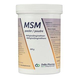 DEBA PHARMA HEALTH PRODUCTS MSM POUDRE (500 G)