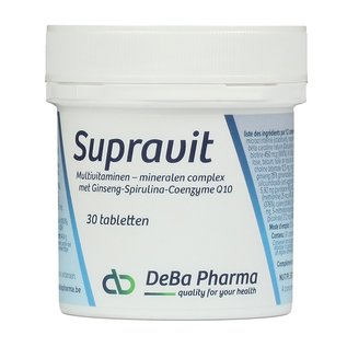 DEBA PHARMA HEALTH PRODUCTS SUPRAVIT (30 COMPRIMÉS)