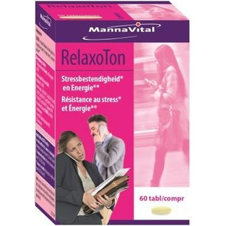 MANNAVITAL NATURAL PRODUCTS RELAXOTON (60 TABLETTEN)