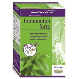 MANNAVITAL NATURAL PRODUCTS IMMUNOTON FORTE (60 V-CAPS)