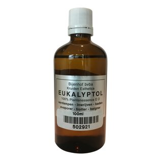 BIJENHOF EUKALYPTOL - EUCALYPTUSOLIE 100 % PUUR (100 ML)