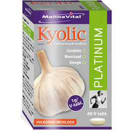 MANNAVITAL NATURAL PRODUCTS KYOLIC PLATINUM (60 V-TABLETTEN)