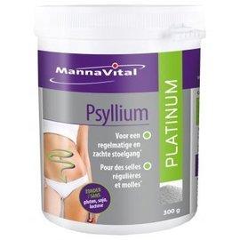 MANNAVITAL NATURAL PRODUCTS PSYLLIUM PLATINUM (300 G)