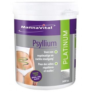 MANNAVITAL NATURAL PRODUCTS PSYLLIUM PLATINUM (300 G)