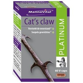 MANNAVITAL NATURAL PRODUCTS CAT'S CLAW PLATINUM (60 V-CAPS)