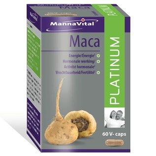 MANNAVITAL NATURAL PRODUCTS MACA PLATINUM (60 V-CAPS)