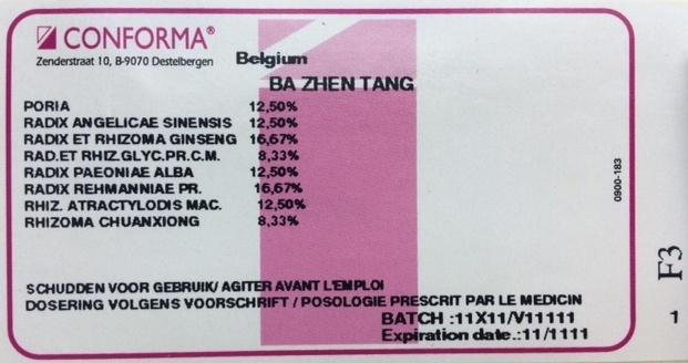 BA ZHEN TANG