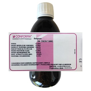CONFORMA CHINESE HERBAL FORMULAS BA ZHEN TANG (BA ZHEN WAN) HC (250 ML)