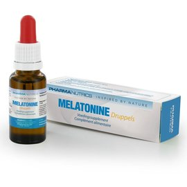 PHARMANUTRICS INSPIRED BY NATURE MELATONINE DRUPPELS (20 ML)