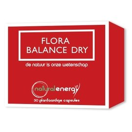 NATURAL ENERGY FLORA BALANCE DRY (30 V-CAPS)
