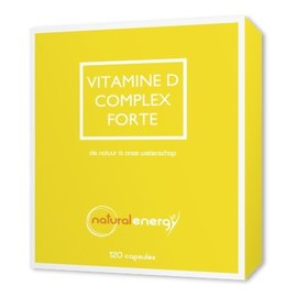 NATURAL ENERGY VITAMINE D COMPLEX FORTE (120 PERLES)