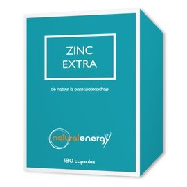 NATURAL ENERGY ZINK EXTRA (180 V-CAPS)