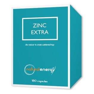 NATURAL ENERGY ZINK EXTRA (180 V-CAPS)
