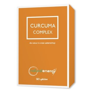 NATURAL ENERGY CURCUMA COMPLEX 500 MG (90 CAPS)
