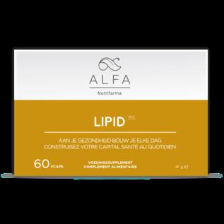 ALFA BY NUTRIFARMA NUTRICEUTICALS ALFA LIPID - COMBUSTION OPTIMALE DES GRAISSES (60 V-CAPS)