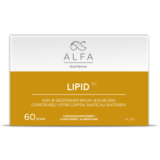 ALFA BY NUTRIFARMA NUTRICEUTICALS ALFA LIPID - OPTIMALE VETVERBRANDING (60 V-CAPS)