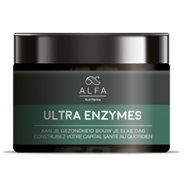 ALFA BY NUTRIFARMA NUTRICEUTICALS ALFA ULTRA ENZYMES - OPTIMALE VERTERING (120 V-CAPS)