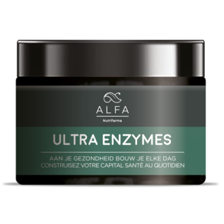 ALFA BY NUTRIFARMA NUTRICEUTICALS ALFA ULTRA ENZYMES - DIGESTION OPTIMALE (120 V-CAPS)