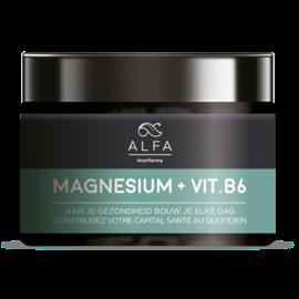 ALFA NUTRIFARMA NUTRICEUTICALS ALFA MAGNESIUM + VITAMINE B6 (90 V-CAPS)