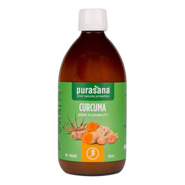 PURASANA NATURAL PROTECTION CURCUMA JOINT FLEXIBILITY BIO - ORGANIC (500 ML)