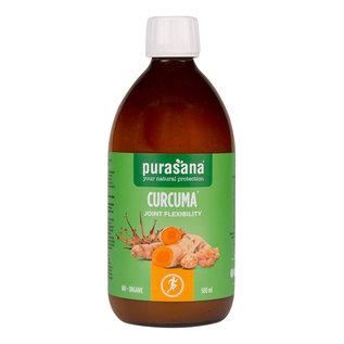 PURASANA NATURAL PROTECTION CURCUMA JOINT FLEXIBILITY BIO - ORGANIC (500 ML)