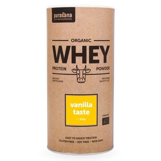 PURASANA NATURAL PROTECTION WHEY PROTEIN POEDER VANILLE (400 G)