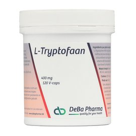 DEBA PHARMA HEALTH PRODUCTS L-TRYPTOFAAN 400 MG (120 V-CAPS)