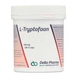 DEBA PHARMA HEALTH PRODUCTS L-TRYPTOFAAN 400 MG (120 V-CAPS)