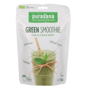 PURASANA NATURAL PROTECTION GREEN SMOOTHIE BIO SHAKE (150 G)