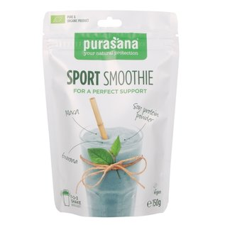 PURASANA NATURAL PROTECTION SPORT SMOOTHIE BIO SHAKE (150 G)