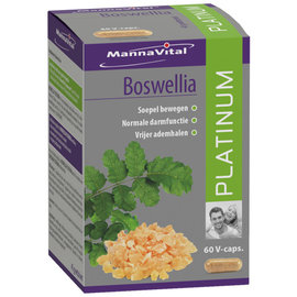 MANNAVITAL NATURAL PRODUCTS BOSWELLIA PLATINUM (60 V-CAPS)