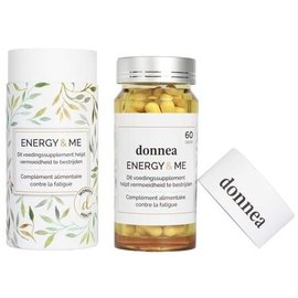 DONNEA ENERGY & ME DONNEA ENERGY & ME - ENERGIESUPPLEMENT VOOR VROUWEN (60 CAPS)