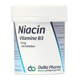 DEBA PHARMA HEALTH PRODUCTS NIACINE VITAMINE B3 (240 COMPRIMÉS)