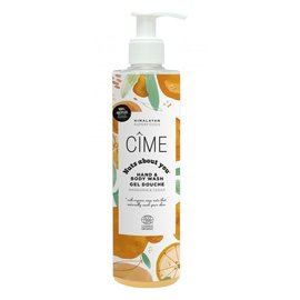 CÎME HIMALAYAN SKINCARE NUTS ABOUT YOU - HAND & BODY WASH MANDARIN & CEDAR (290 ML)