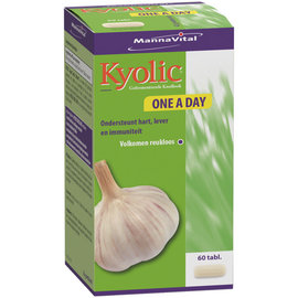 MANNAVITAL NATURAL PRODUCTS KYOLIC KNOFLOOK ONE A DAY (60 TABLETTEN)