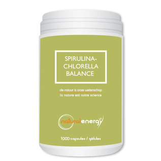 NATURAL ENERGY SPIRULINA-CHLORELLA BALANCE (1000 CAPS)